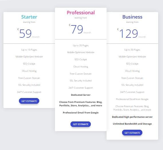 Pricing Tables Module | Divi Builder