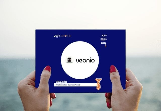VEONIO friendly business award nomination