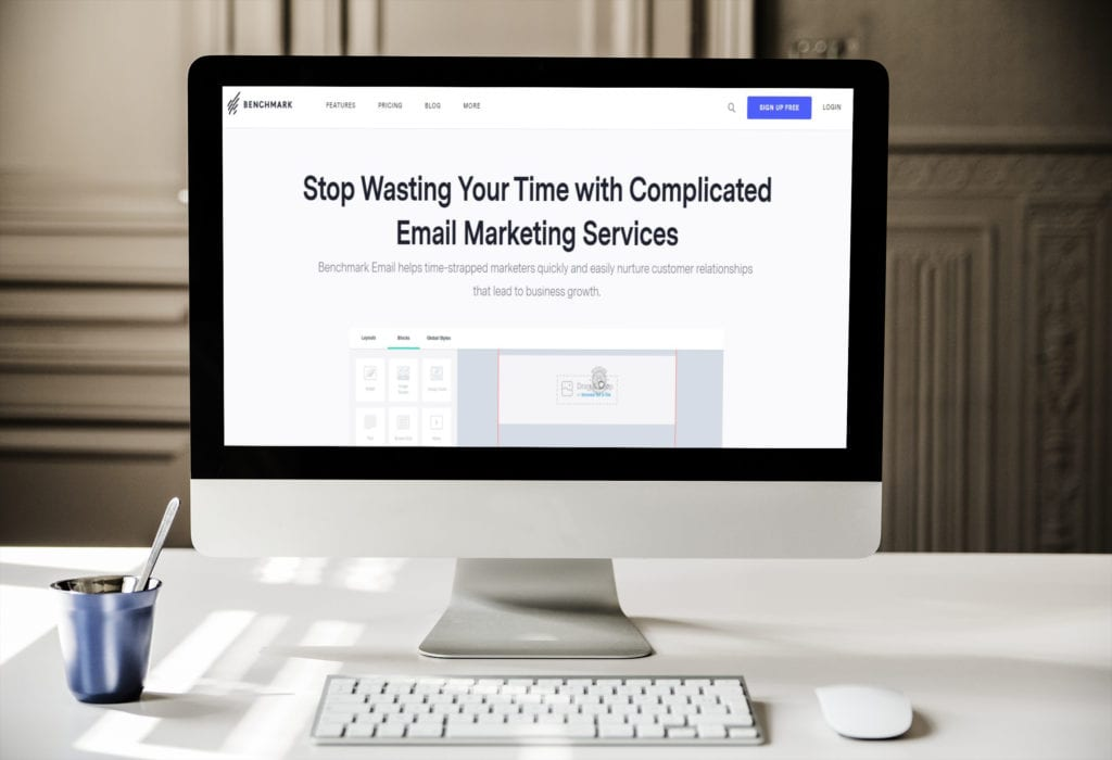 Benchmark Email Marketing, Newsletter Campaign